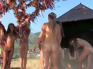 Beach Hairy Nudist