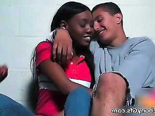 Amateur Ebony Girlfriend Interracial Teen