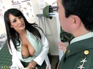 Amazing Big Tits Doctor MILF Pornstar Uniform