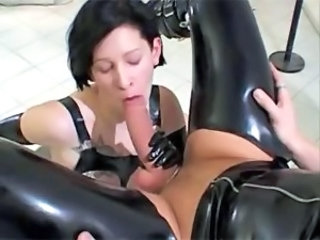 Big cock Blowjob Fetish Latex