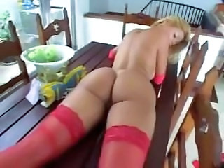 Amazing Ass Brazilian Latina MILF Stockings