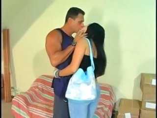 Kissing Latina MILF