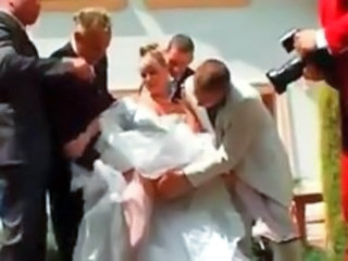 Bride Gangbang Outdoor