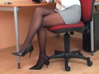 Legs Secretary Skirt Stockings