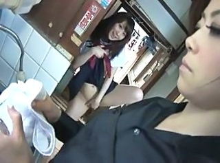 Asian Japanese MILF Old and Young Student Teen Uniform