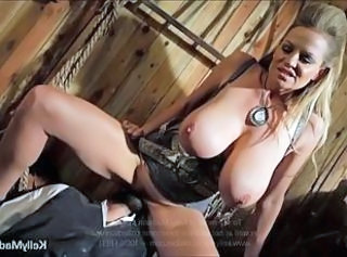 Amazing Big Tits Facesitting MILF Pornstar