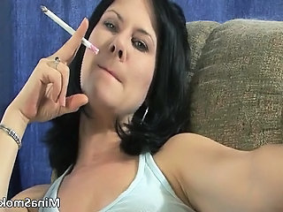 MILF Smoking