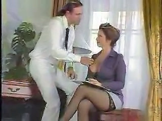 Big Tits MILF Mom Old and Young Stockings