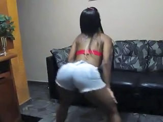 Dancing Ebony Teen