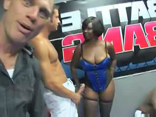 Big cock Big Tits Corset Ebony Interracial MILF