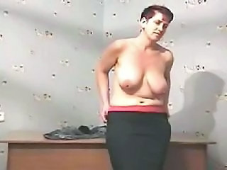 Amateur Chubby Mature SaggyTits Stripper