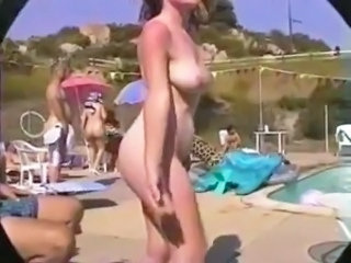 Beach Hairy Nudist Voyeur