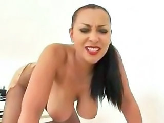 Babe Big Tits Machine Natural Pantyhose SaggyTits