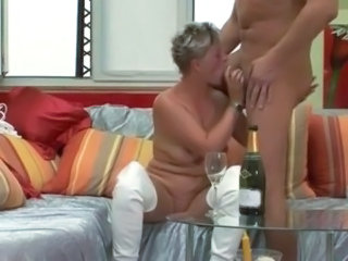 Amateur Blowjob Drunk European German Mature