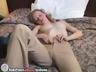 Amateur Blonde Stripper Teen