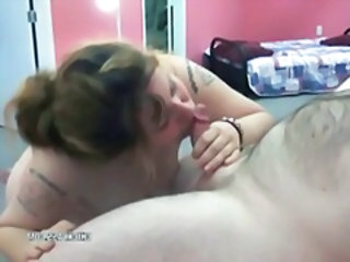 Amateur Blowjob Chubby MILF Small cock Tattoo