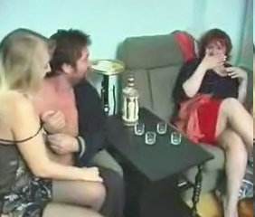 Drunk Russian Swingers Threesome Young