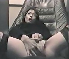 Asian Japanese Masturbating Office Vintage
