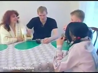 Family Groupsex Kitchen Mom Russian