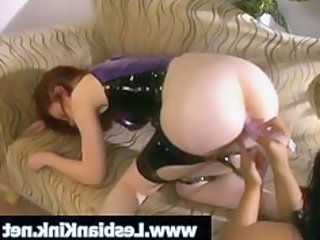 Ass Latex Lesbian Toy