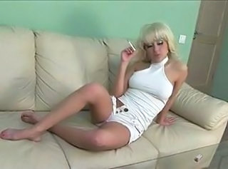 Russian Smoking Teen