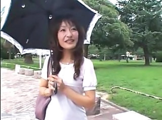 Asian Japanese Mature Outdoor Public