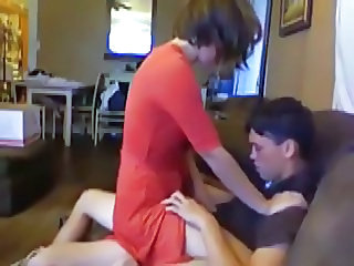 Homemade Riding Russian Teen