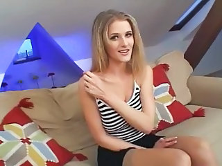 Blonde Cute European Teen