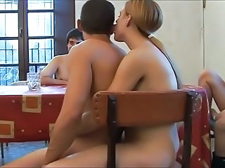 European Groupsex Orgy Spanish