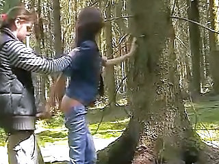 Clothed Handjob Outdoor Russian Teen