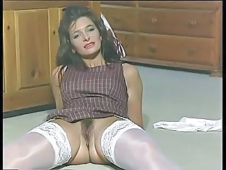 British European Hairy Mature Stockings Vintage