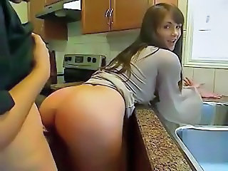 Cute Doggystyle Kitchen Teen