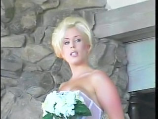 Amazing Blonde Bride MILF