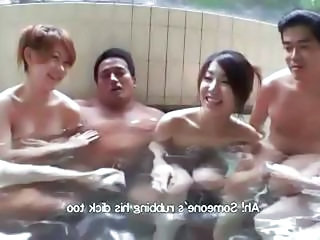 Asian Babe Japanese Pool Swingers