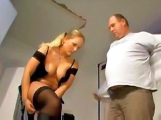 Blonda Europeana German MILF Ciorapi