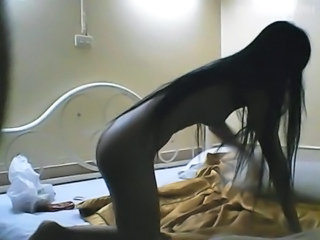 Amateur Asian Long hair Teen Thai
