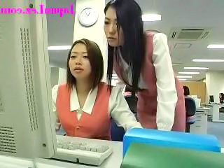 Asian Japanese Lesbian Office Secretary