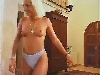 Blonde Daughter Panty Teen