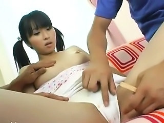 Asian Cute Hairy Korean Panty Pigtail Teen