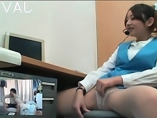 Asiàtica Japonesa Masturbant Calces Webcam