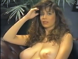 Amazing Big Tits Hairy MILF Natural Pornstar Vintage