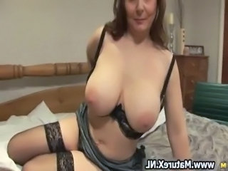 Horny mature wife not far from sexy lingerie loves free