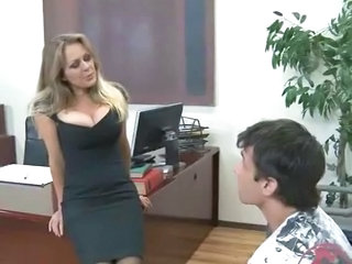 Big Tits MILF Office Teacher