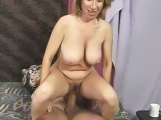 Big cock Big Tits Mature Natural Riding SaggyTits Wife