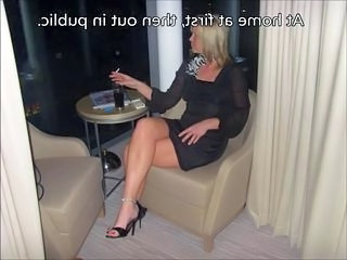 Amateur Cuckold MILF Smoking Wife