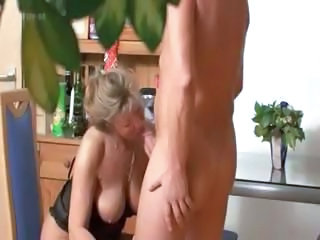 Big Tits Blonde Blowjob Mature Mom Natural SaggyTits
