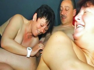 Groupsex Handjob Mature Older Swingers Wife