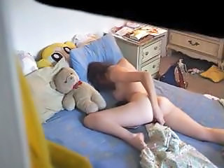 Masturbating Teen Toy Voyeur