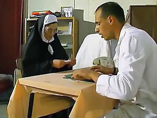 European French Nun Uniform