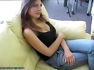 Cute European Jeans Teen